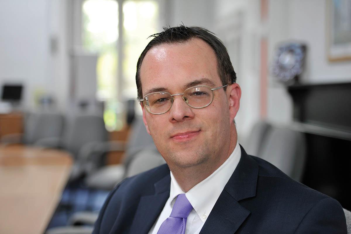 Principal David Gleed