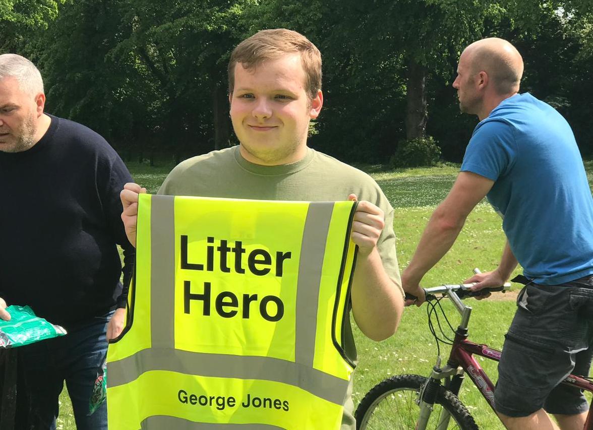 Big Clean Litter Hero Hi-Vis Jacket