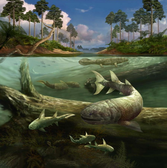 The Devonian period – also known as the time of the fish