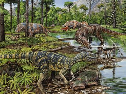 The 4th mass extinction - Triassic-Jurassic